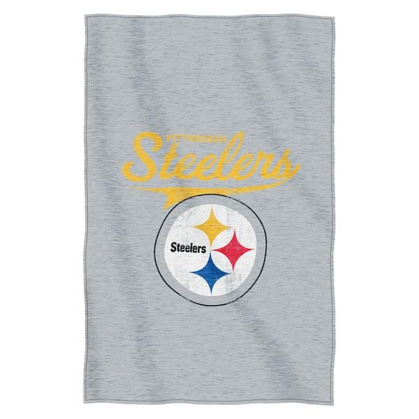 NFL 100 Steelers Sweatshirt Throw