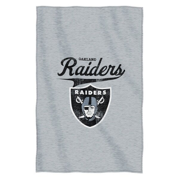 NFL 100 Raiders Sweatshirt Throw