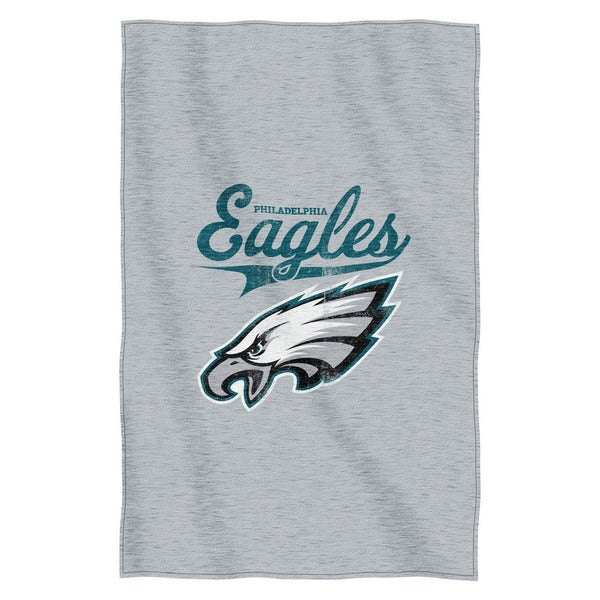 NFL 100 Eagles Sweatshirt Throw