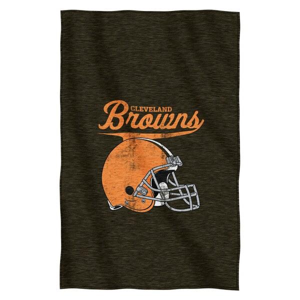 NFL 100 Browns Sweatshirt Throw