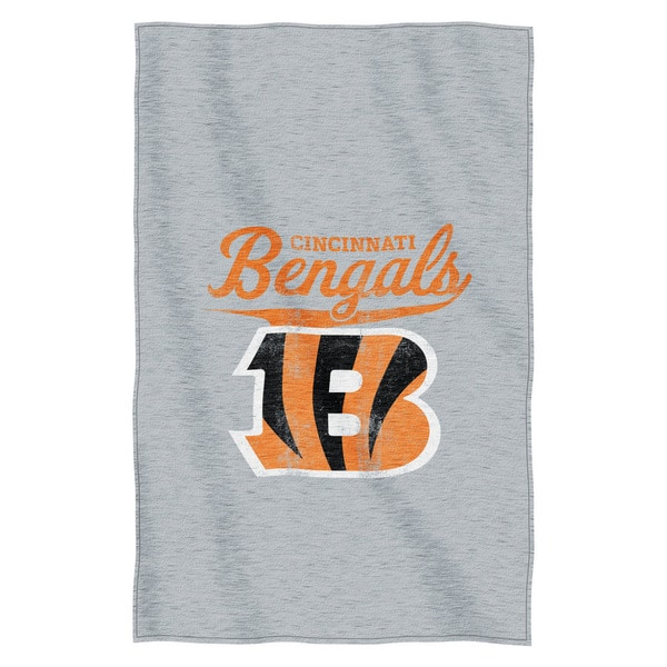 NFL 100 Bengals Sweatshirt Throw