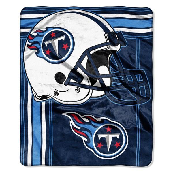 NFL 07083 Titans Touchback Raschel Throw