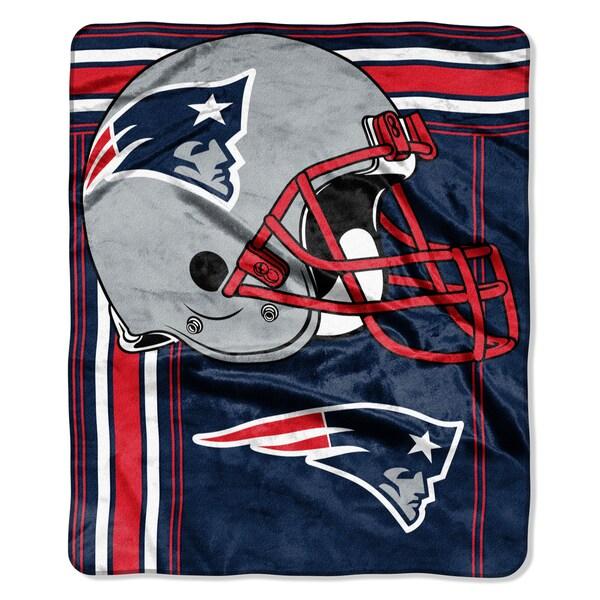 NFL 07083 Patriots Touchback Raschel Throw