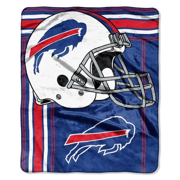 NFL 07083 Bills Touchback Raschel Throw