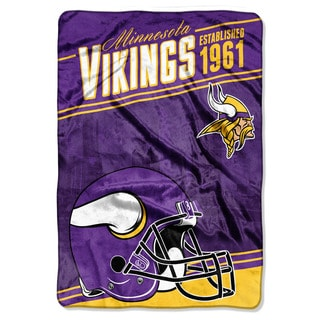 NFL 076 Vikings Stagger Micro Oversize Throw