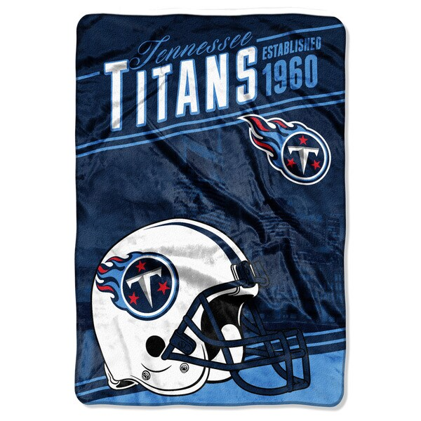 NFL 076 Titans Stagger Micro Oversize Throw