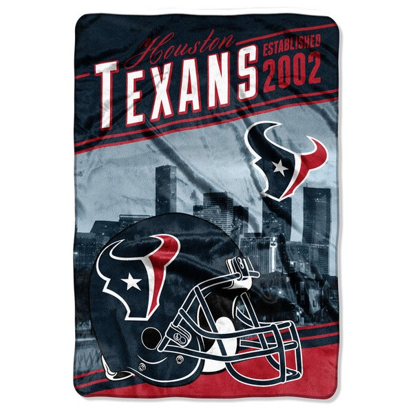 NFL 076 Texans Stagger Micro Oversize Throw