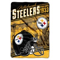 NFL 076 Steelers Stagger Micro Oversize Throw