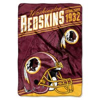 NFL 076 Redskins Stagger Micro Oversize Throw