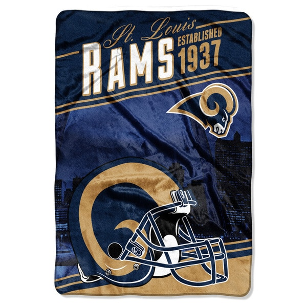 NFL 076 Rams Stagger Micro Oversize Throw