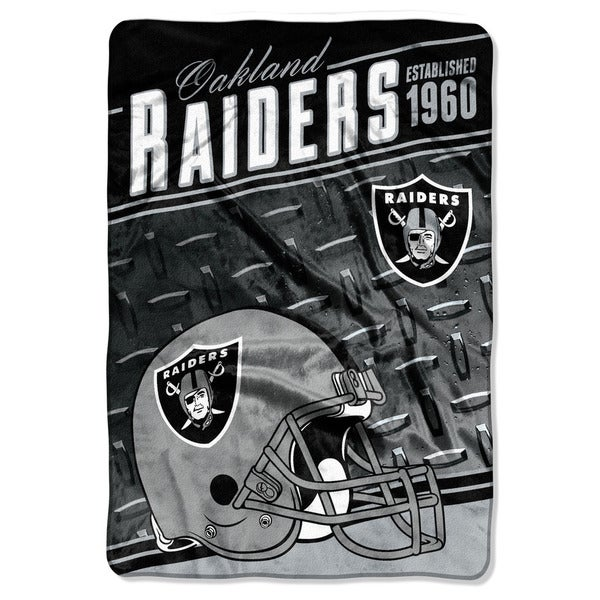 NFL 076 Raiders Stagger Micro Oversize Throw