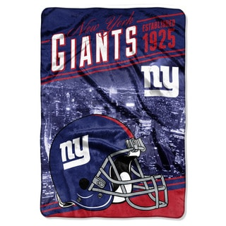 NFL 076 NY Giants Stagger Micro Oversize Throw