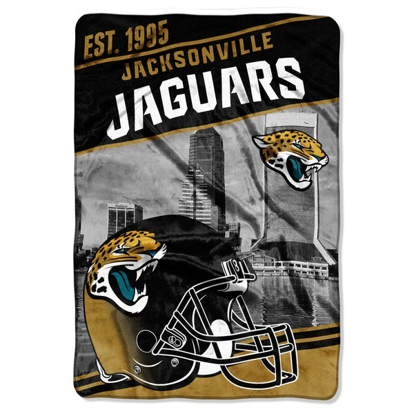 NFL 076 Jaguars Stagger Micro Oversize Throw
