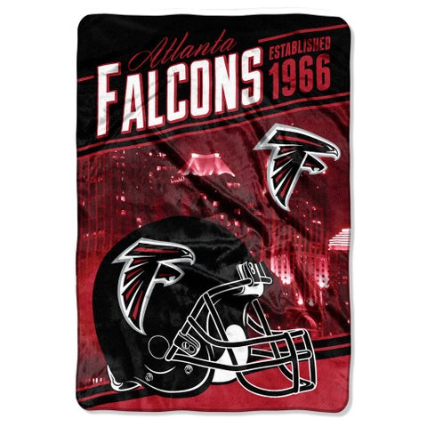 NFL 076 Falcons Stagger Micro Oversize Throw