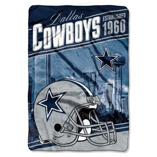 NFL 076 Cowboys Stagger Micro Oversize Throw