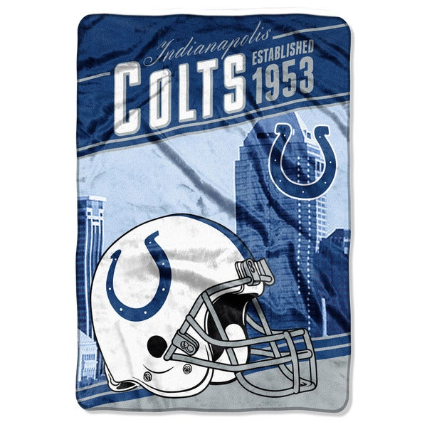 NFL 076 Colts Stagger Micro Oversize Throw