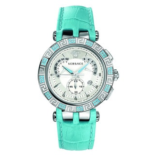 Versace Women's V-RACE CHRONO White Watch