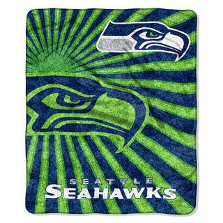 NFL 065 Seahawks Sherpa Strobe Throw