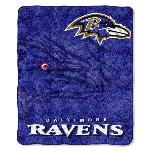 NFL 065 Ravens Sherpa Strobe Throw