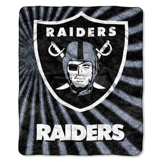 NFL 065 Raiders Sherpa Strobe Throw