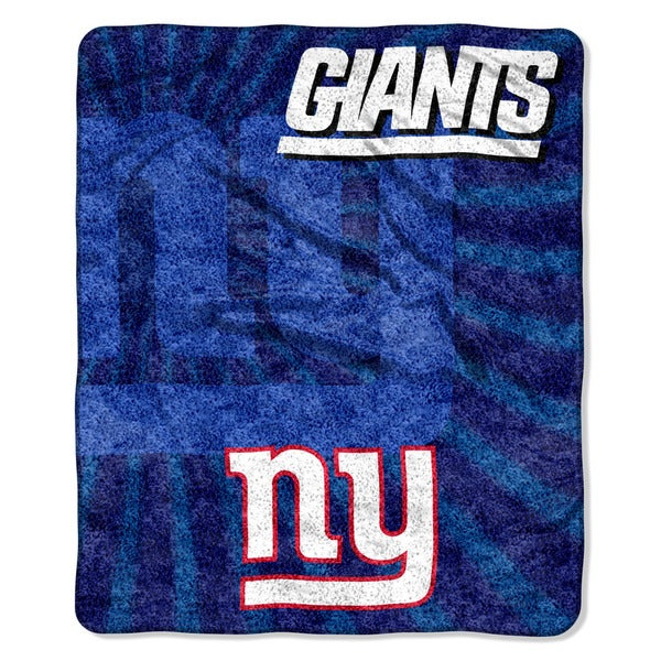 NFL 065 NY Giants Sherpa Strobe Throw