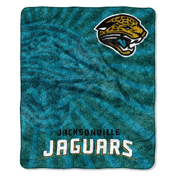 NFL 065 Jaguars Sherpa Strobe Throw