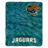 NFL 065 Jaguars Sherpa Strobe Throw