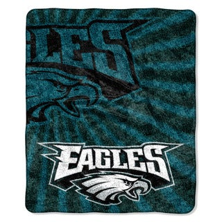NFL 065 Eagles Sherpa Strobe Throw