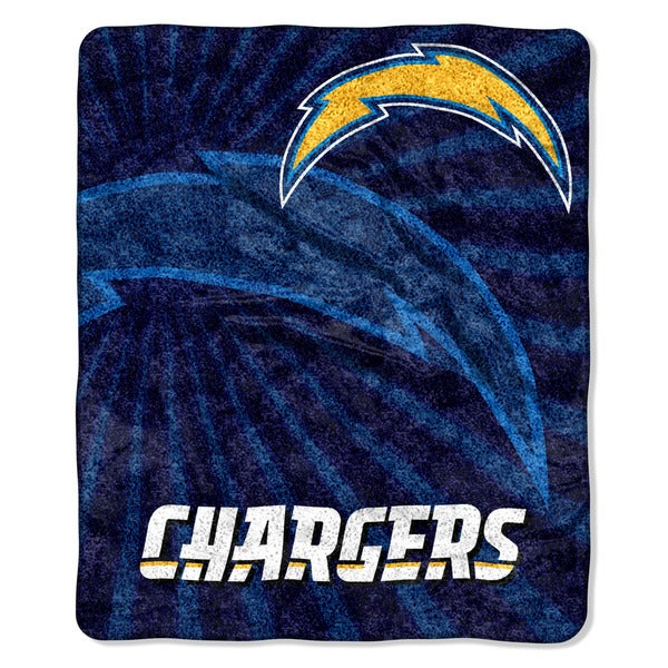 San Diego Chargers Blanket: Shop NFL 065 Chargers Sherpa Strobe Throw