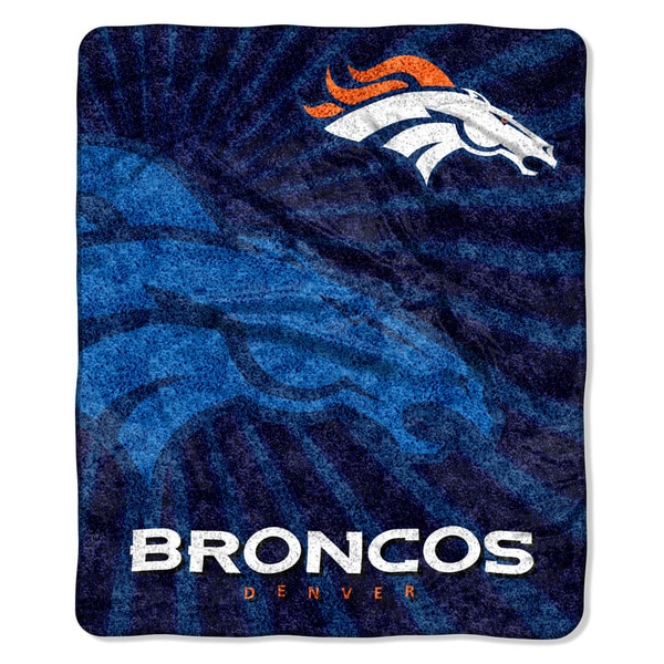 NFL 065 Broncos Sherpa Strobe Throw