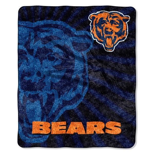 NFL 065 Bears Sherpa Strobe Throw