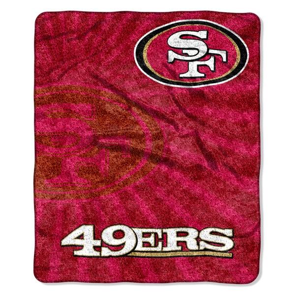 NFL 065 49ers Sherpa Strobe Throw