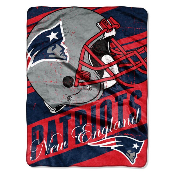 The Northwest Company NFL New England Patriots Deep Slant Micro Throw