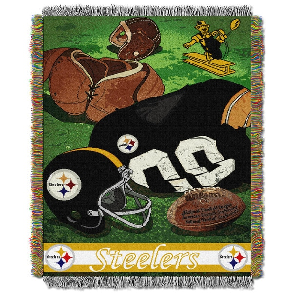 NFL 051 Steelers Vintage Throw