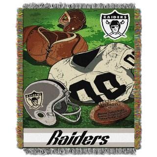 NFL 051 Raiders Vintage Throw