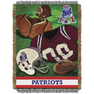 NFL 051 New England Patriots Vintage Throw