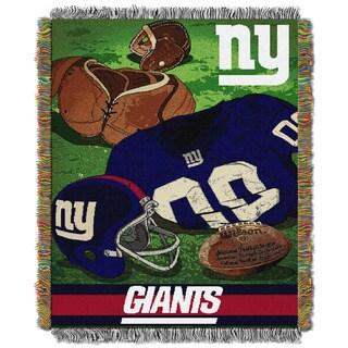 NFL 051 NY Giants Vintage Throw