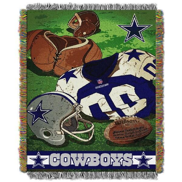 NFL 051 Cowboys Vintage Throw