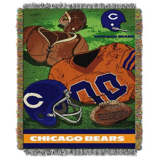 NFL 051 Bears Vintage Throw