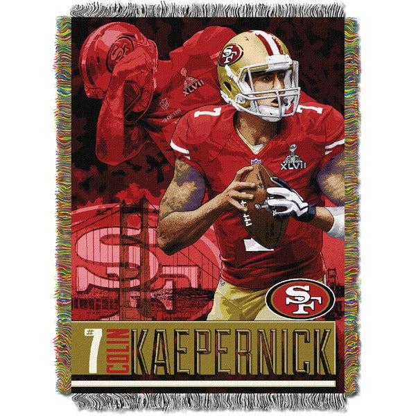 NFL 051 Colin Kapernich - 49ers Player Throw