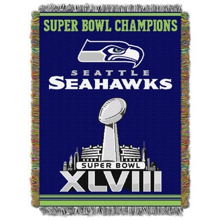 NFL 051 Seahawks Commemorative Series Throw