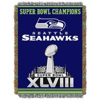 NFL 051 Seahawks Commemorative Series Throw