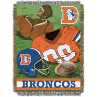 NFL 051 Broncos Vintage Throw