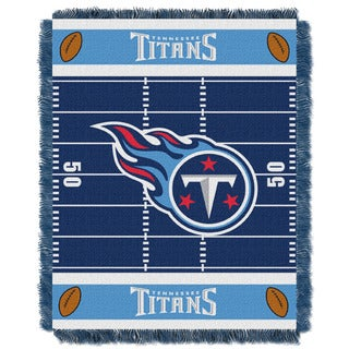 NFL 04401 Titans Field Baby Throw