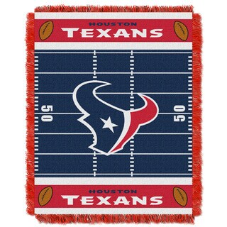 NFL 04401 Texans Field Baby Throw