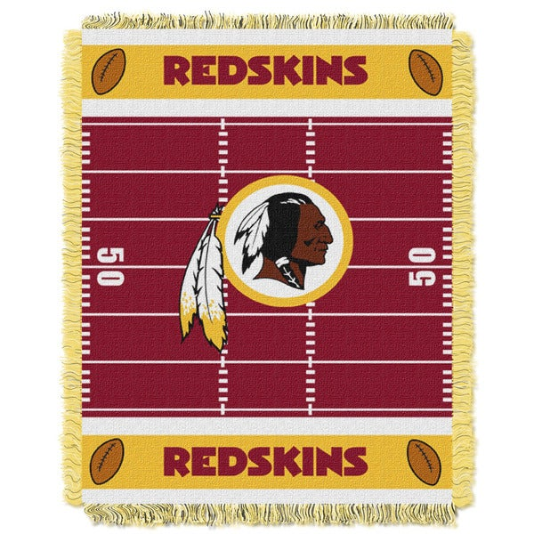 NFL 04401 Redskins Field Baby Throw