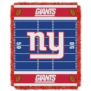 NFL 04401 NY Giants Field Baby Throw
