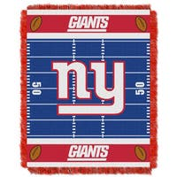 NFL 04401 NY Giants Field Baby Throw