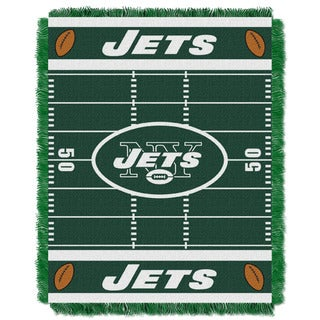 NFL 04401 Jets Field Baby Throw