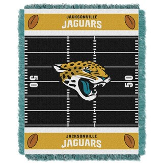 NFL 04401 Jaguars Field Baby Throw